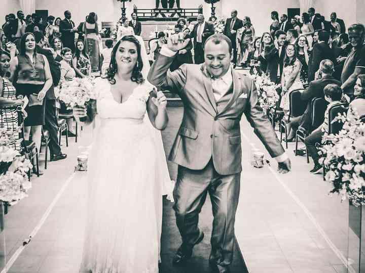 O casamento de Carina e Marcos