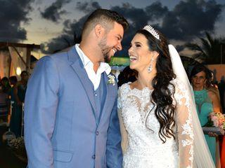O casamento de Crisley e Júnior