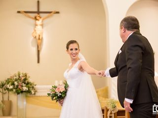 O casamento de Karine e Miguel