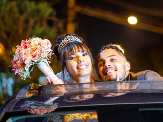 O casamento de Paola e Tiago