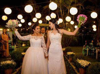 O casamento de Andreia e Louise