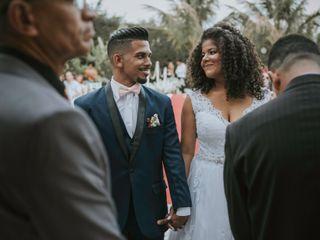 O casamento de Carolaine e Rafael