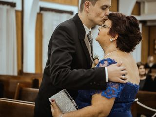 O casamento de Talita  e Isar 1