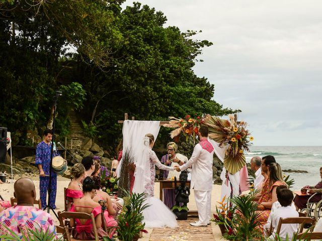 O casamento de Jader e Carol em Ubatuba, São Paulo 22