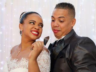 O casamento de Éberson e Jaqueline