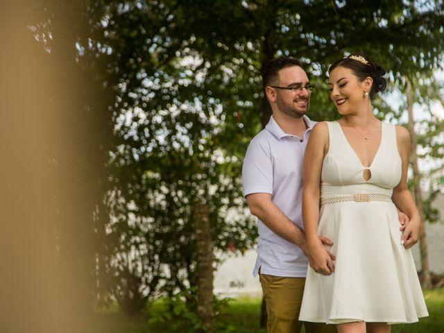 O casamento de Francielle e Victor