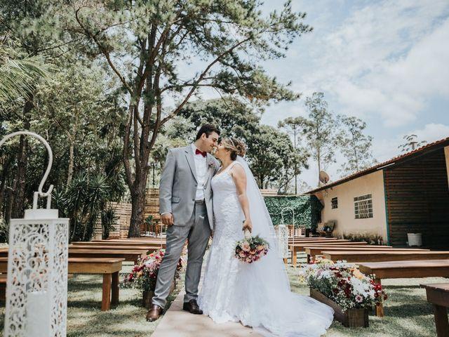 O casamento de Alane e Thiago