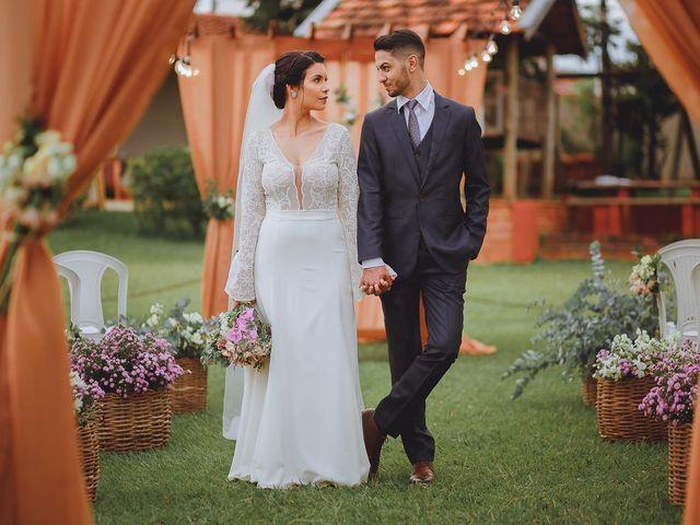 O casamento de Ariane e Junior