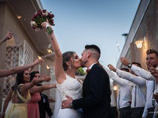 O casamento de Alana e Jeferson