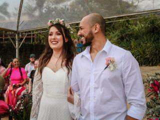 O casamento de Camila e Gilberto
