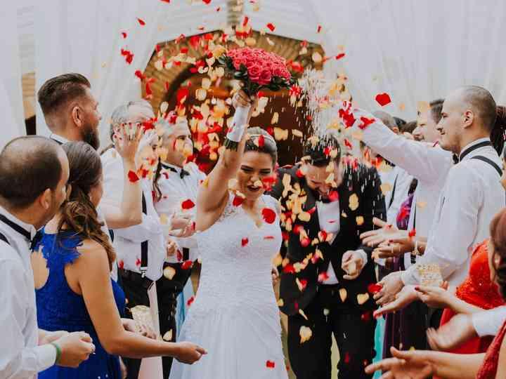 O casamento de Priscila e Erick