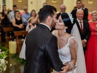 O casamento de Viviane e Sérgio