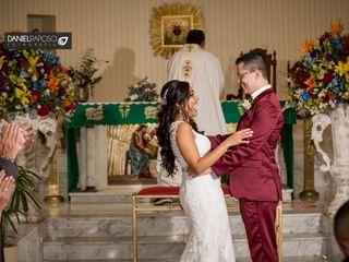 O casamento de Taiara e Marcus