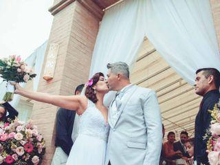 O casamento de Cíntia e Ronaldo