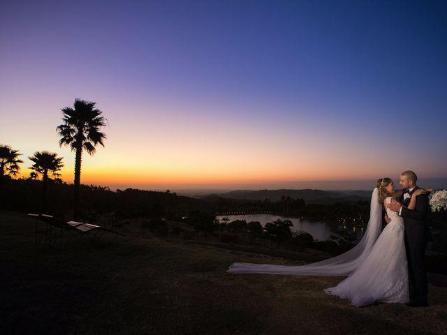 O casamento de Evelyn e Ghais
