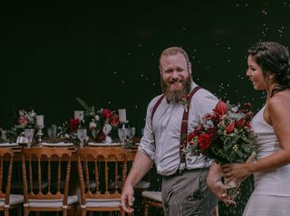 O casamento de Letícia e Marcelo