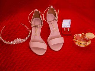 O casamento de Aline e Dimas 1
