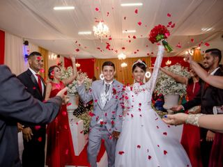O casamento de Aline e Dimas