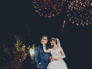 O casamento de Danielle e Marcos