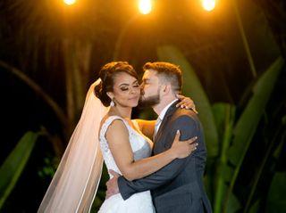 O casamento de Carol e Dimas