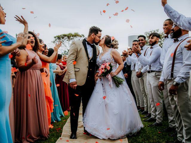 O casamento de Walace e Vanessa em Araçariguama, São Paulo 19