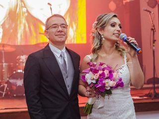 O casamento de Fabiana e Marcelo