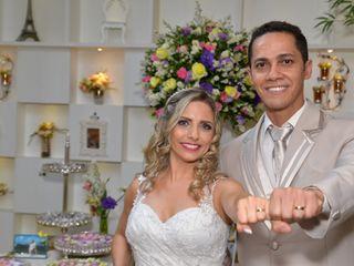 O casamento de Michele e Augusto