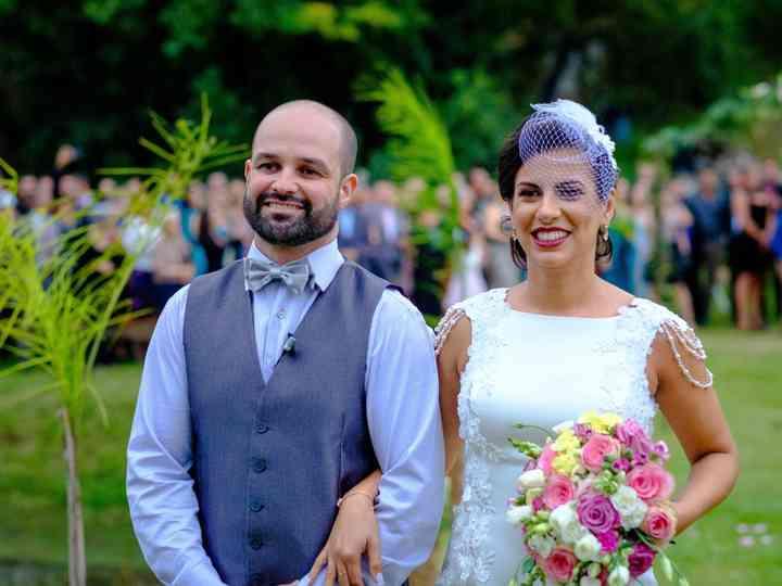 O casamento de Fernanda e Fábio