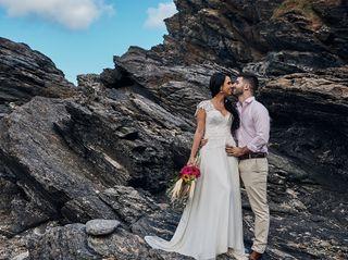 O casamento de Alanna e César
