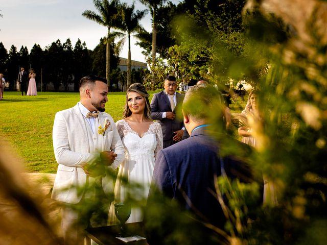 O casamento de Carina e Clayton