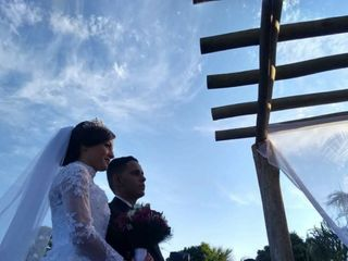 O casamento de Rafaela e Geovane 1