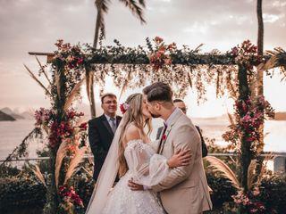 O casamento de Lynda e Caio