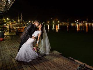 O casamento de Mônica e Thiago