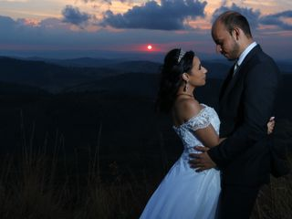 O casamento de Alana e Diego