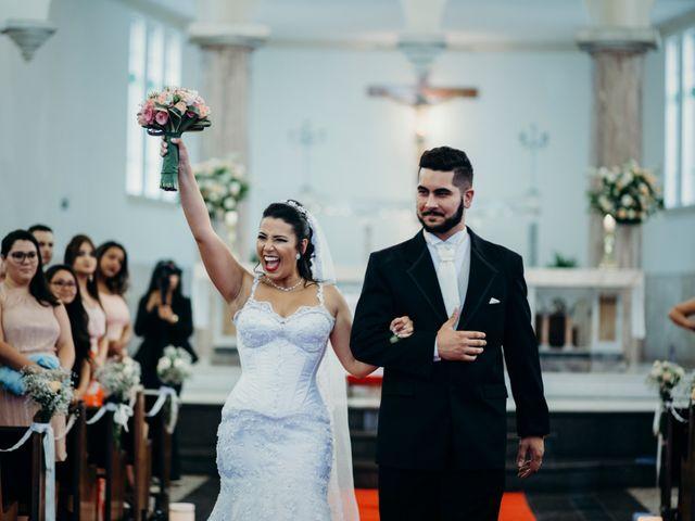 O casamento de Bianca e Arthur