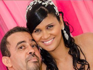 O casamento de Adriana e Ailton