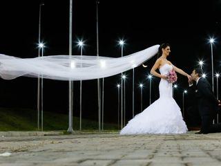 O casamento de Camila e Junior