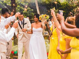 O casamento de Cristina e Allan