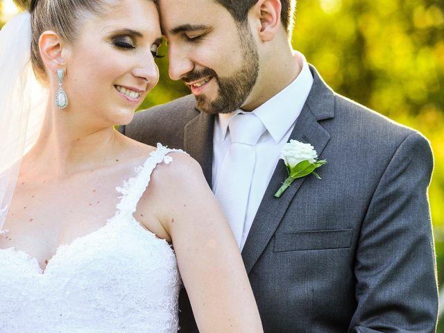 O casamento de Camila e Renato