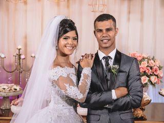 O casamento de Damila e Leonan