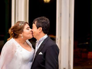 O casamento de Aloísio e Fernanda