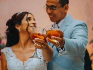 O casamento de Rosi e Valberlan