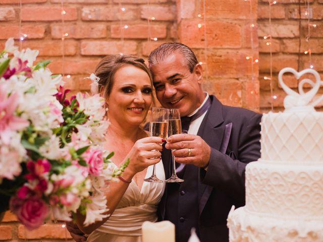 O casamento de Leila e Adelson