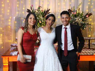 O casamento de Eudiene  e Carlos