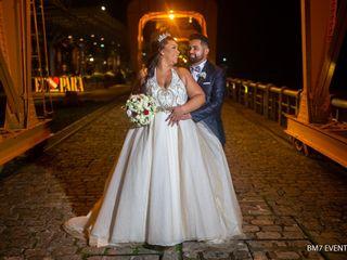 O casamento de Tharcia  e Jonas