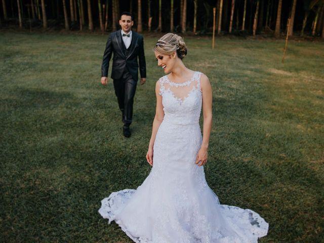 O casamento de Simone e Allison