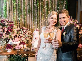 O casamento de Bianca de Carvalho e George de Carvalho