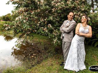 O casamento de Amélia e Rogério