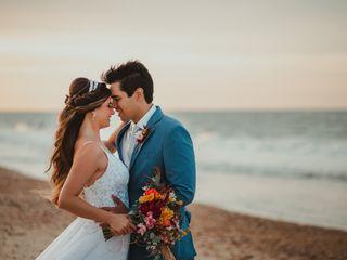 O casamento de Priscila e Caio