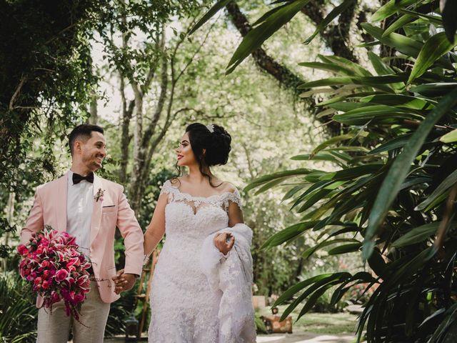 O casamento de Caroline e Gustavo